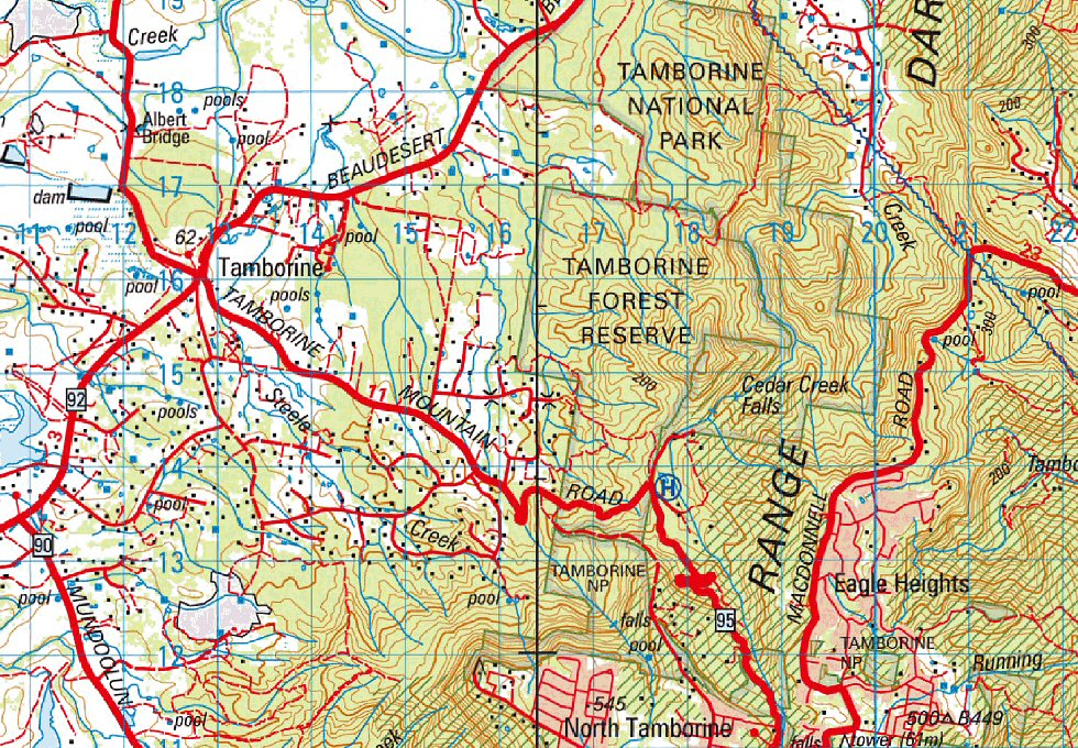 100k Queensland and Northern Territory Digital Maps Download