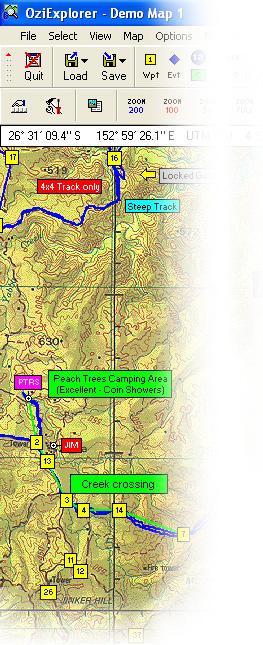 OziExplorer, OziExplorerCE and OziExplorer3D GPS Mapping